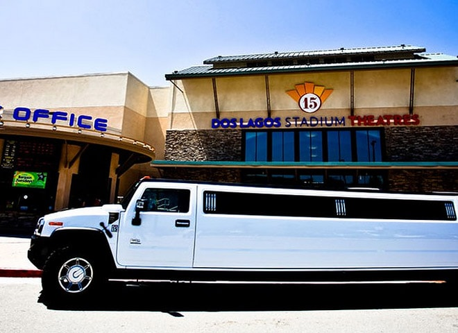 Stretch Limo In Redlands
