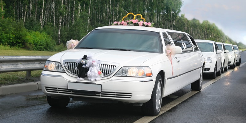 Wedding Transportation Service in Redlands
